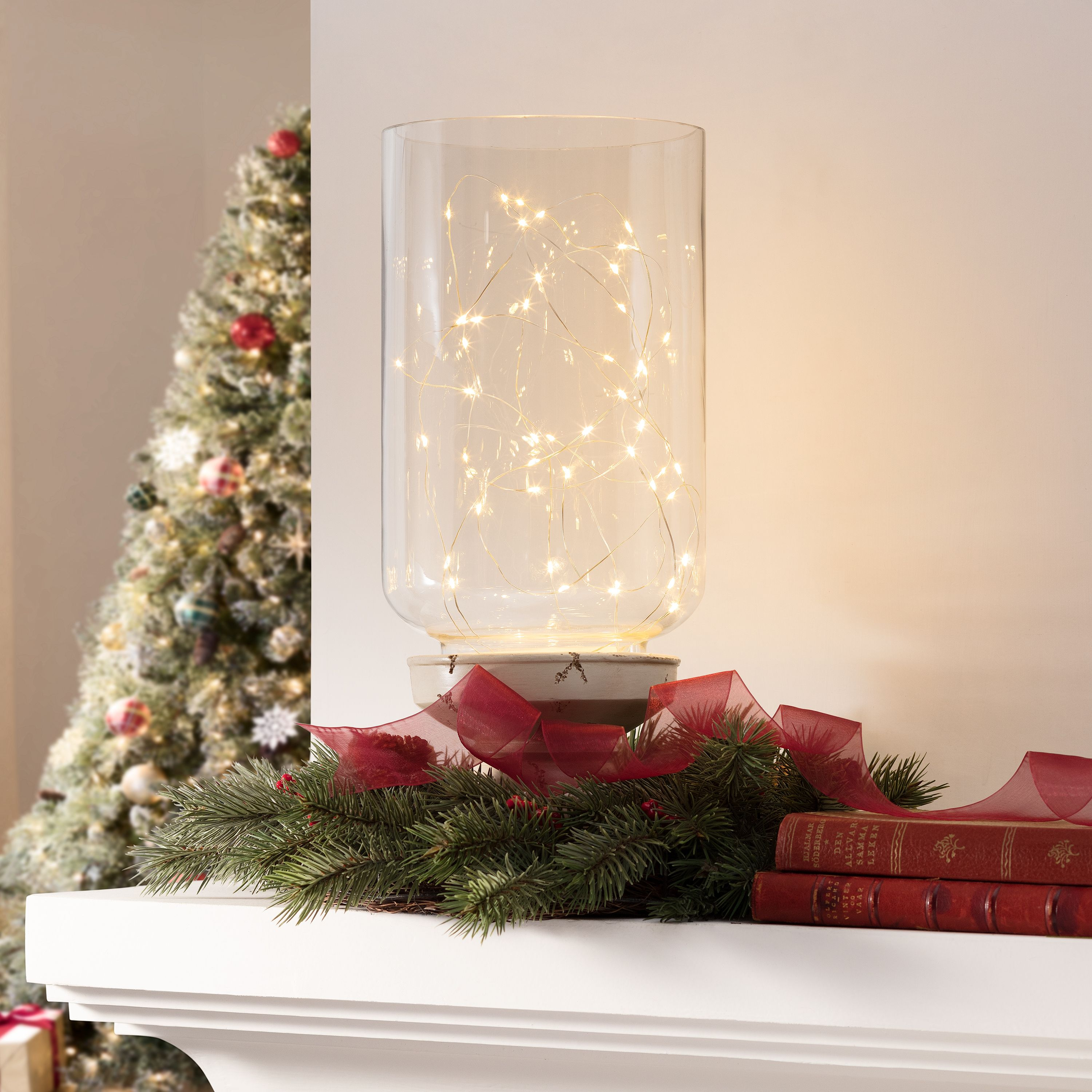 PDQ 50 BeatSync Sound-Activated String Lights, 50, Warm White, 12' 2.4