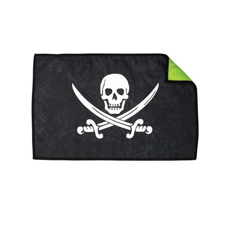 Exalt Paintball Microfiber Goggle Cloth - Player Size - Jolly Roger Pirate Paintball Player Clothes