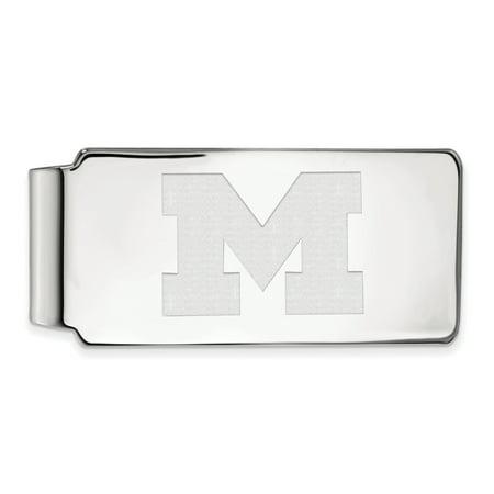 Michigan Monkey (Lex & Lu LogoArt Sterling Silver Michigan (Univ Of) Money)