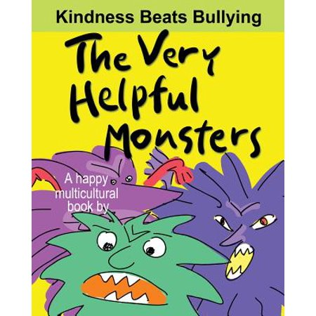 The Very Helpful Monsters (a Happy Multicultural Book) (Paperback) - Happy Monster