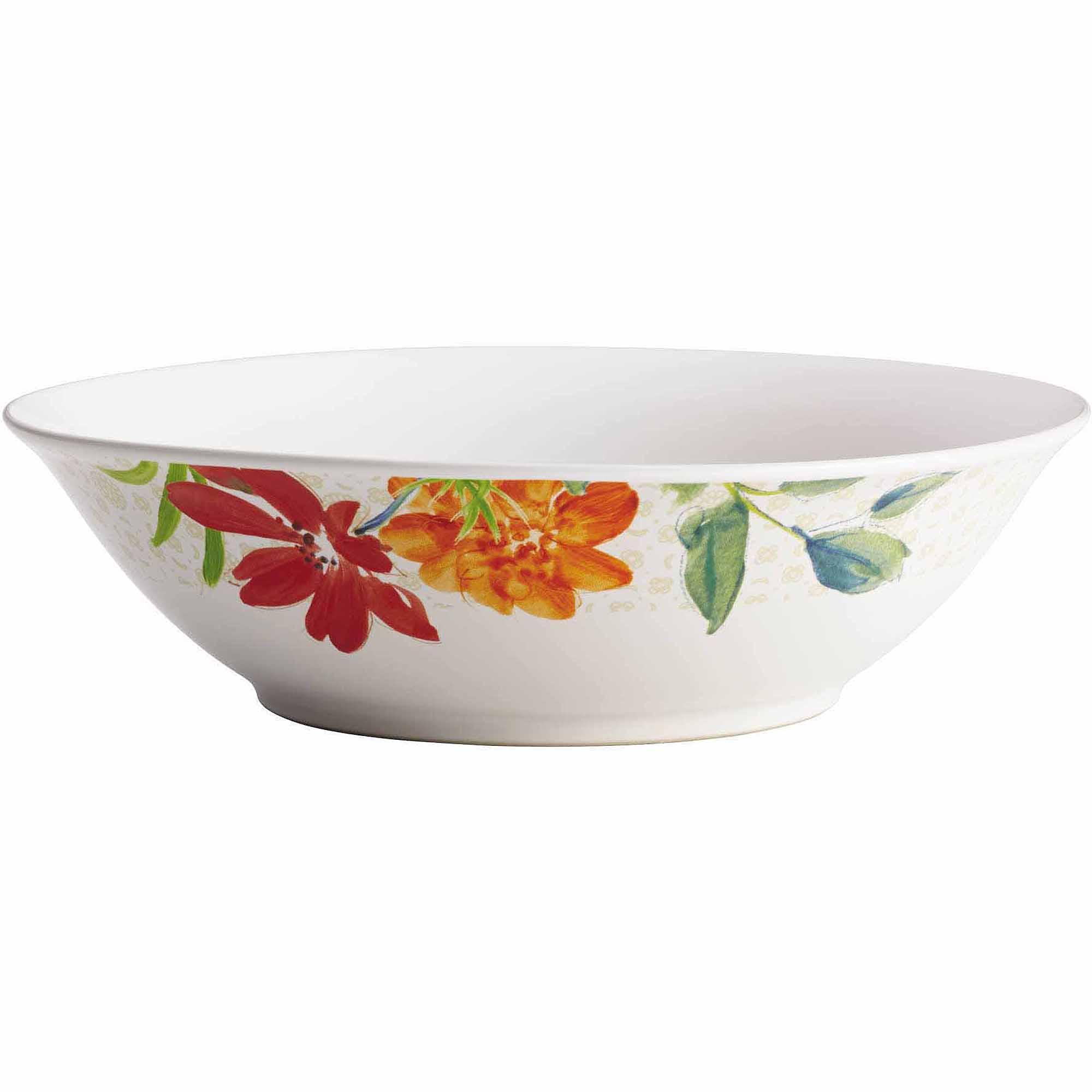 "BonJour Dinnerware Al Fresco StoNeware 10"" Serving Bowl by Meyer Corporation"