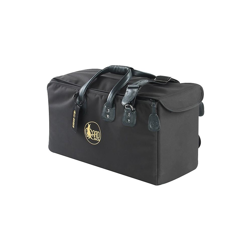 Gard Mid-Suspension Trumpet & Flugelhorn Gig Bag 9-MSK Black Synthetic w/ Leather Trim