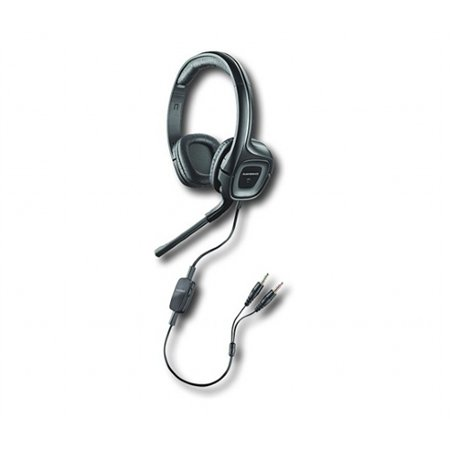 12d189b8100 Plantronics Audio 355/Z, PC Headset with 3.5 Adapter, US Bulk Packaging  79730-02 - Walmart.com