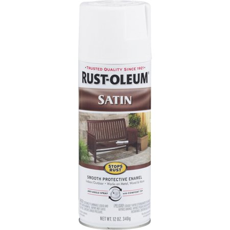 Rust-Oleum Stops Rust Satin Spray Paint for $<!---->