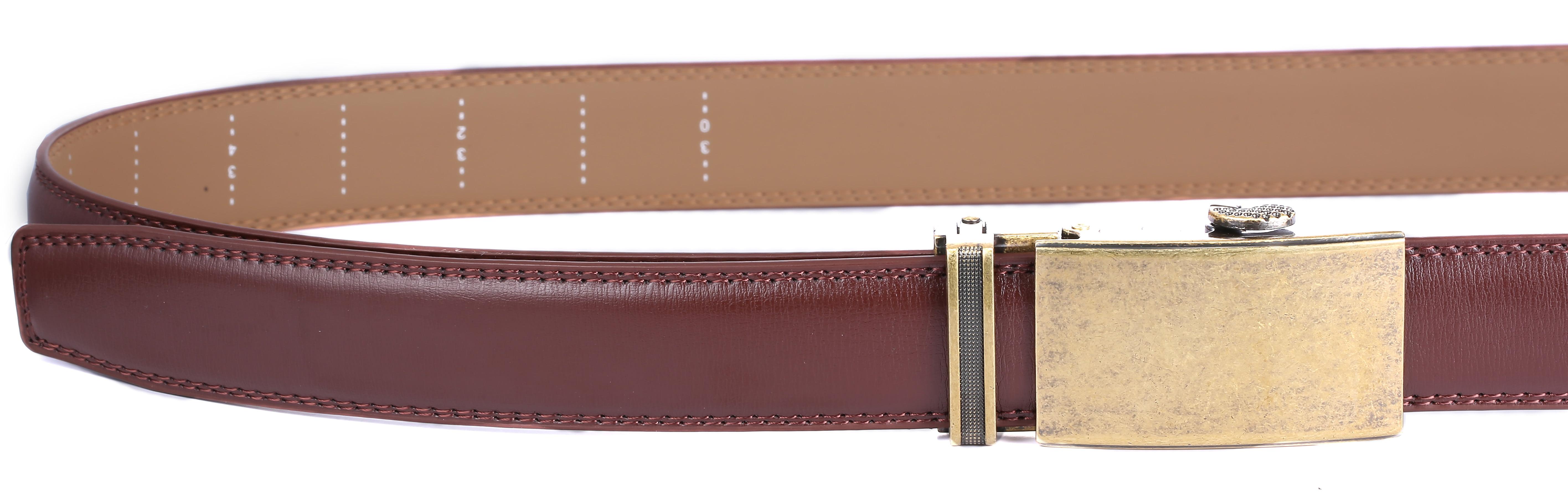 Marino Men s Genuine Leather Ratchet Dress Belt with Automatic