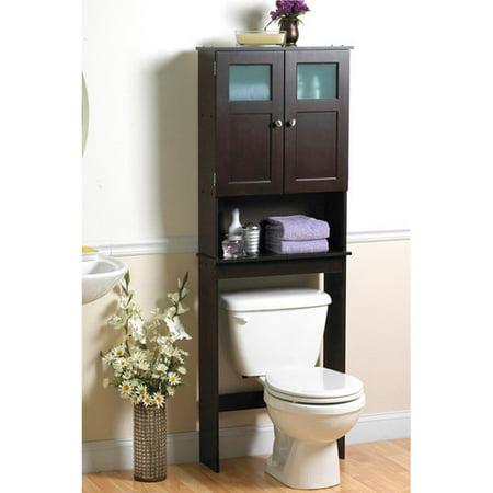 Zenith Wood Space Saver, Espresso 9820CHBB - Zenith Wood Space Saver,  Espresso 9820CHBB - - Space Saver Bathroom Cabinet Cymun Designs