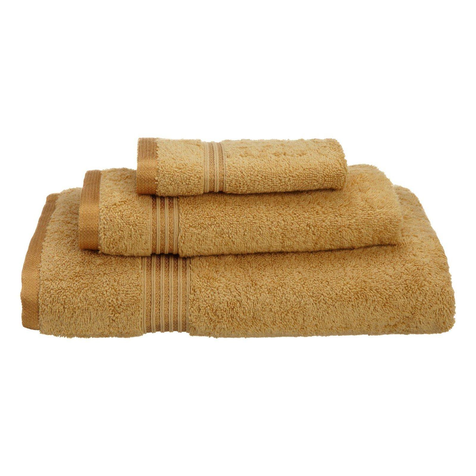 Superior 600GSM Egyptian Quality Cotton 3-Piece Towel Set