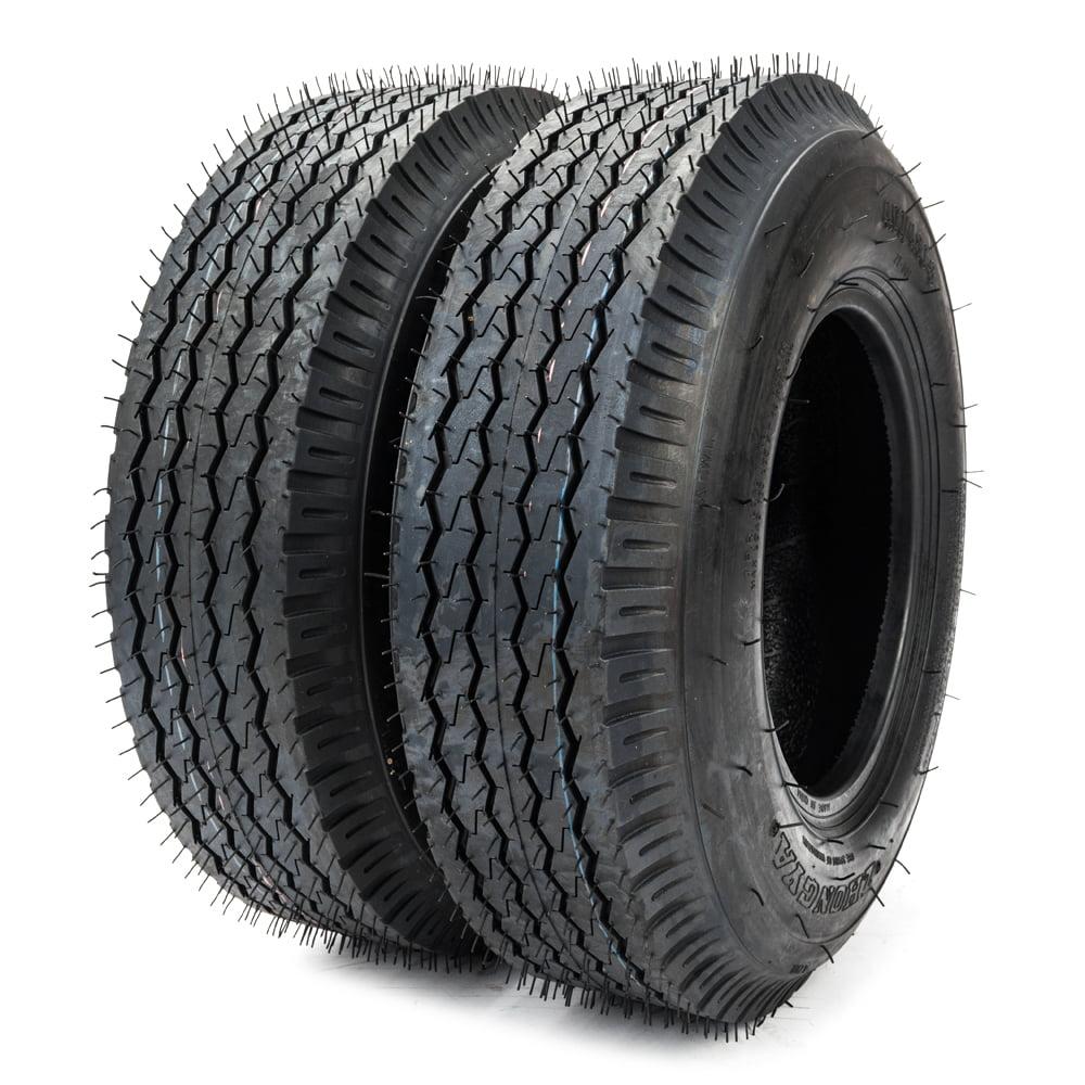Ktaxon Two 4 80 4 00 8 4 Pr Bias Trailer Tires 4 80 8 4 80x8 New