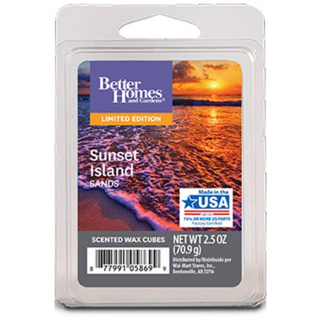 Better Homes & Gardens Sunset Island Sands Fragrance Cubes