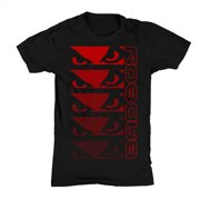 Youth Stacked Up T-Shirt - Black