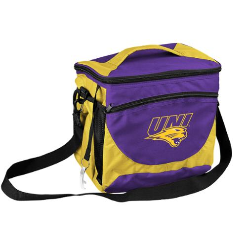 Northern Iowa Panthers Official NCAA 24 Can Cooler by Logo Chair Inc. 250630