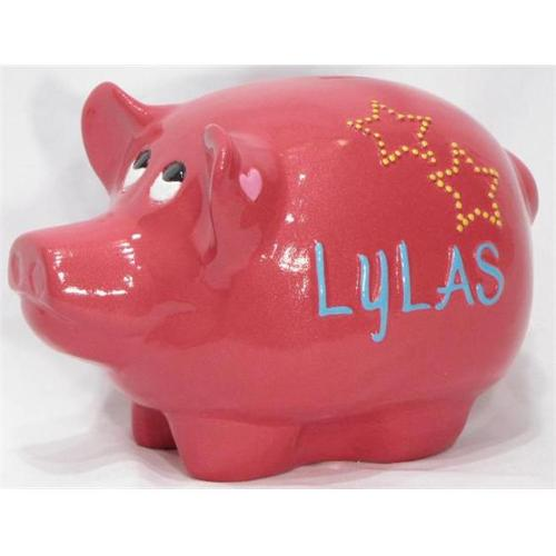 Metrotex Designs Girly Chic Piggy Bank Figurine