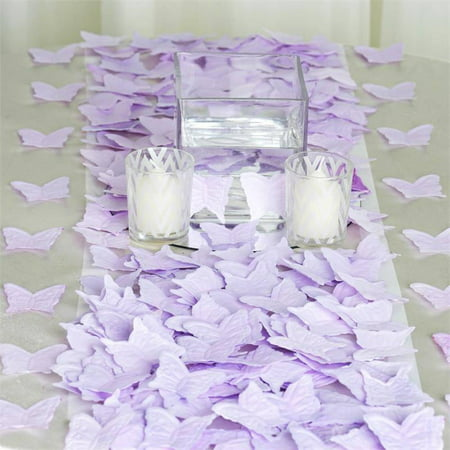 Efavormart 500pcs Artifical Butterfly Shape Petals For Wedding Birthday Party Dance Banquet Event Decoration (Snow White Birthday Decorations)