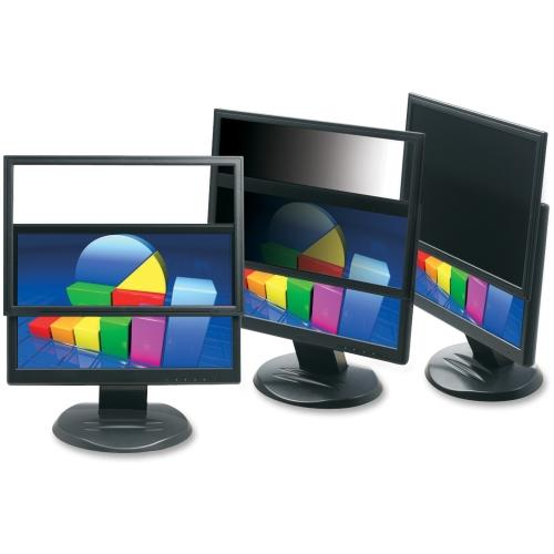 "3M PF319W 3M PF319W Framed Privacy Filter for Widescreen Desktop LCD/CRT Monitor Black - 19""LCD Monitor"
