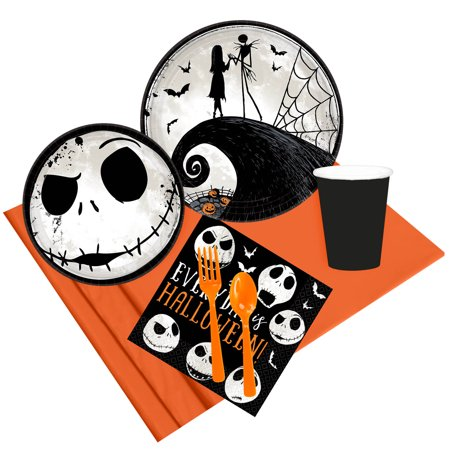 Nightmare Before Christmas Party Pack For 8](Nightmare Before Christmas Party Supplies)