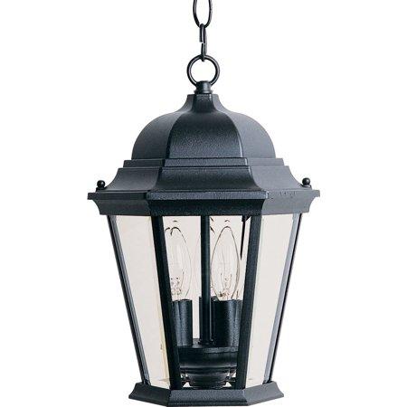 "Maxim 1009 Black Westlake 3 Light 14"" Lantern Pendant"