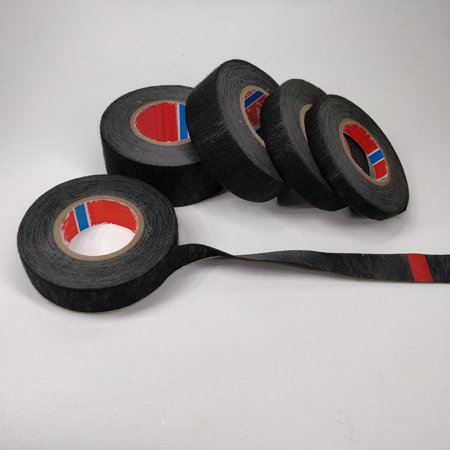 Car Flannel Tape Harness Tape Super Sticky Electrical Insulation Black Tape - image 6 of 6