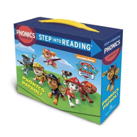 Paw Patrol Phonics Box Set (Gift For 7 Year Old Boy 2015)