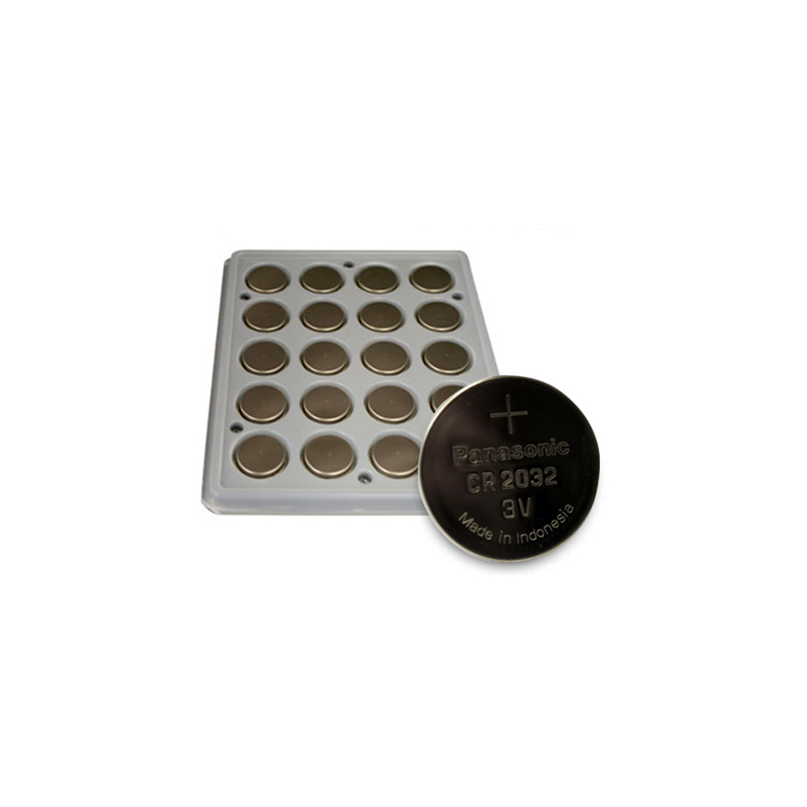 200 pieces Panasonic CR2032 3V Lithium Coin Cell Battery ...