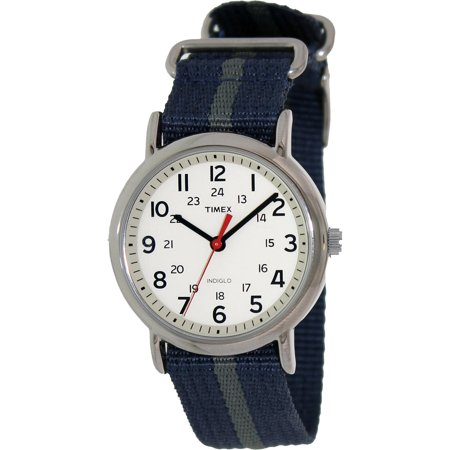 Walmart,Timex Men's T2N654 Blue Nylon Analog Quartz Fashion Watch