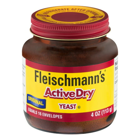 Dry Brewers Yeast ((2 Pack) Fleischmann's Active Dry Yeast 4)