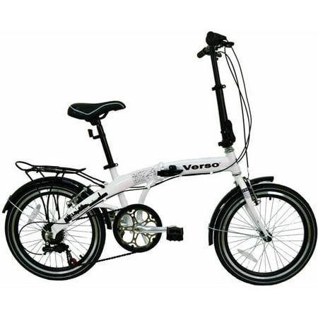 Verso Cologne Folding Bike Pearl White