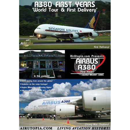 Airbus A380 World Tour Final Testing   First Delivery Dvd