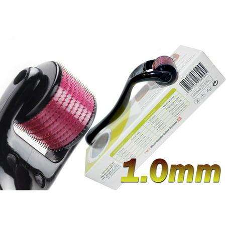 (540 Needles Titanium) TMT Derma Micro Needle Roller System 1.0 mm