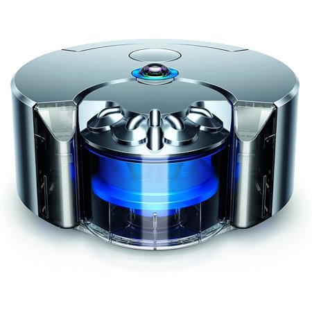 Dyson 360 Eye Robot Vacuum Cleaner Cyclone Nickel Blue (New-Open Box)