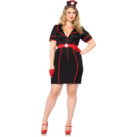 Plus Size Night Nurse Adult Halloween - Nurse Costumes For Adults