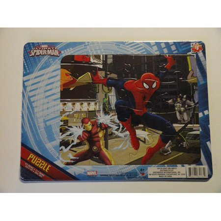 The Ultimate Spider Man 16 Piece Cardboard Puzzle  Usa  Brand Cardinal Industrieds