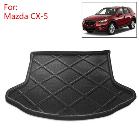 Car Rear Trunk Tray Liner Cargo Floor Mat Cover for Mazda CX-5 13-16 ()