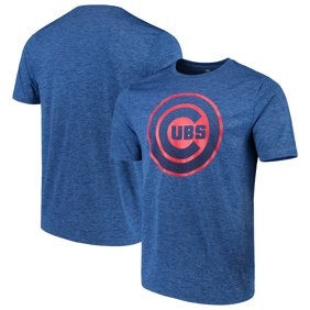 589cc6133 Majestic. Men s Majestic Heathered Royal Chicago Cubs Logo ...