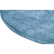"""Marbled Vinyl Elasticized Table Cover 42"""" x 68"""" Oval Oblong by Miles Kimball"""