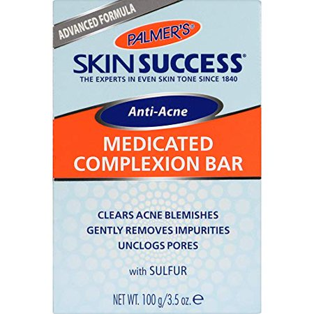 Palmer's Skin Success Eventone Medicated Anti-Acne Complexion Soap Bar, 3.5 Ounces (Pack of 12)