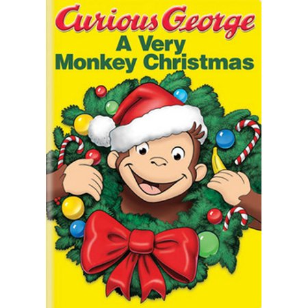 Curious George: A Very Monkey Christmas (DVD) ()