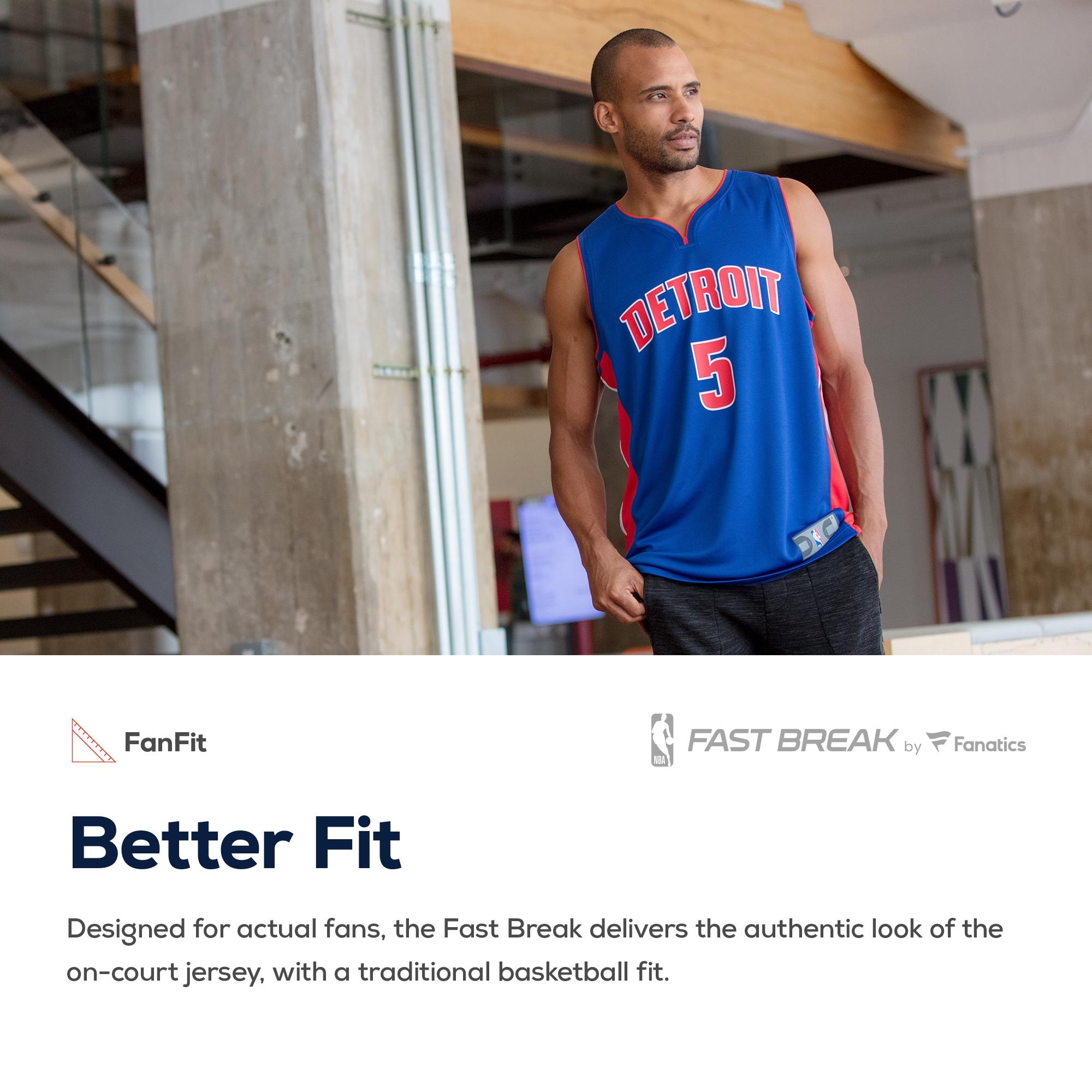 fd2506c1c66 Blake Griffin Detroit Pistons Fanatics Branded Youth Fast Break Jersey - Statement  Edition - Silver - Walmart.com