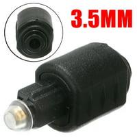 Optical 3.5mm Female Mini Jack Plug To Digital Toslink Male Audio Player Adapter