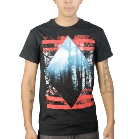 Tony Hawk Triangle Forest Mens Black T Shirt New Sizes S