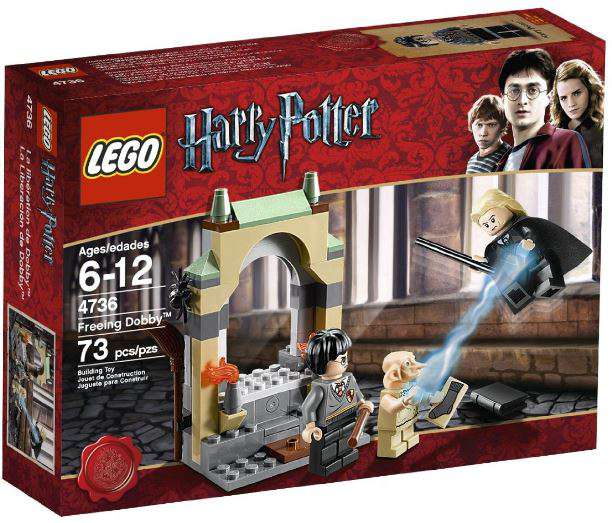 Harry Potter Series 2 Freeing Dobby Set Lego 4736 by LEGO Systems, Inc.