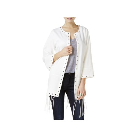 Fair Child Womens Fringe Open Front Casual - Fringe Open Cup