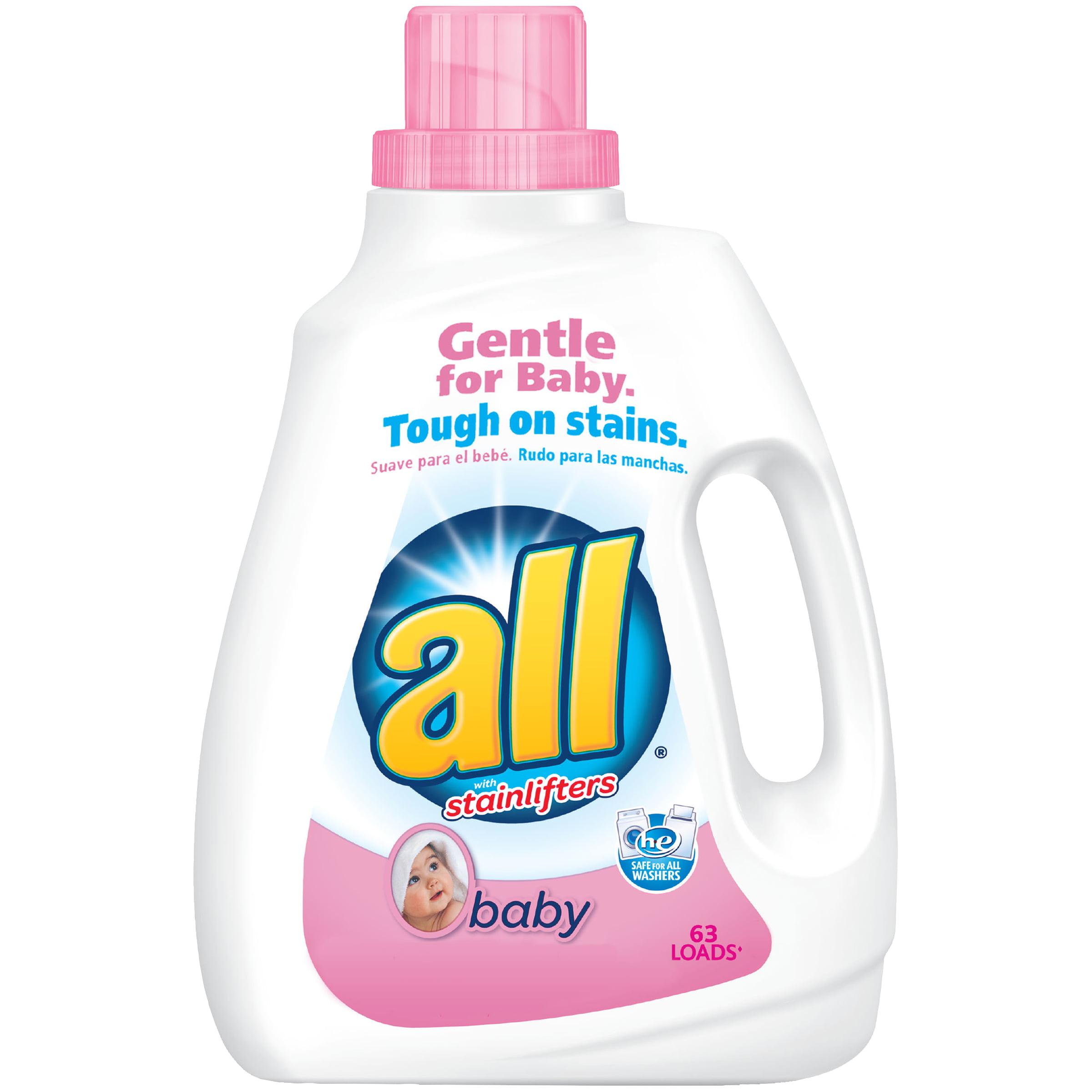 Baby washing detergent