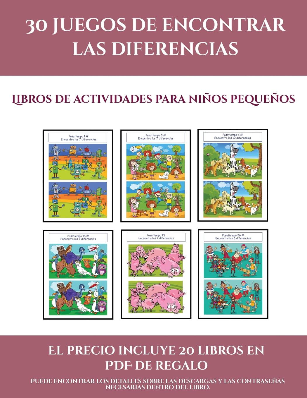Libros De Actividades Para Ni U00f1os Peque U00f1os  Libros De