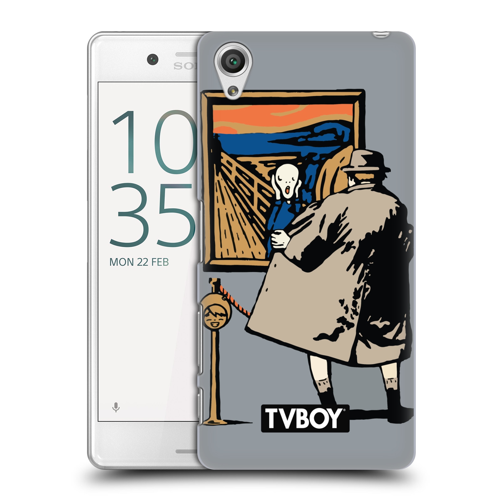 OFFICIAL TVBOY URBAN CELEBRITIES HARD BACK CASE FOR SONY PHONES 1
