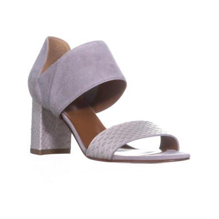 - Womens Aquatalia Suzanne Slip On Heeled Sandals, Printed Snake