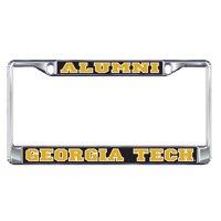 Georgia Tech Plate Frame (DOMED GA TECH ALUMNI PLT FRAME_18065)