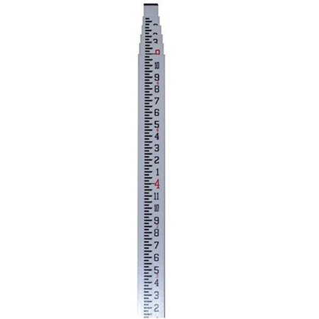 CST Berger 06-916C 16-Foot Feet, Inches, and Eighths Telescoping Measuring Rod