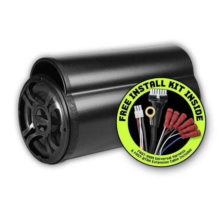 Bazooka Bt Series Bta850fh Subwoofer System - Black - 39 Hz - 250 Hz (bta850fh)