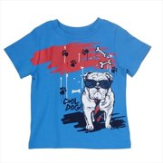 Klever Kids SS13-B75-8 Boys Crew Neck Printed T-Shirt, 8 Years
