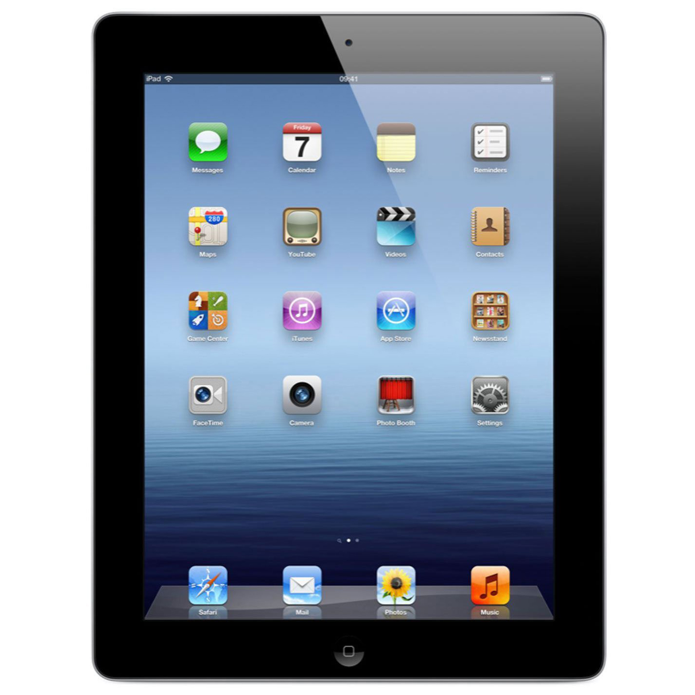 "Refurbished Apple iPad 3 9.7"" 16GB WiFi Tablet Dual Core A5X Processor 1GB Camera - Black"
